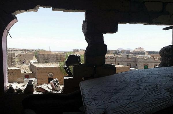 مليشيا الحوثي تستهدف بالكاتيوشا منازل المواطنين في منطقة اليتمة بالجوف