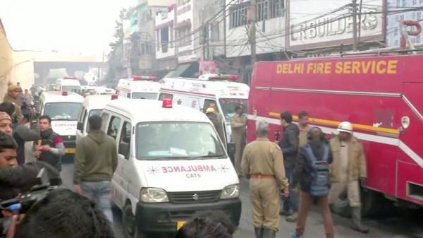 الهند: عشرات القتلى إثر اندلاع حريق بمصنع في نيودلهي