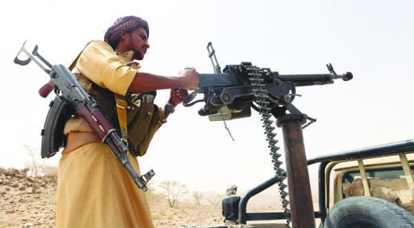المقاومة ورجال القبائل يصدون تسللاً للحوثيين في مديرية الزاهر بالبيضاء ويوقعون فيهم 5 قتلى
