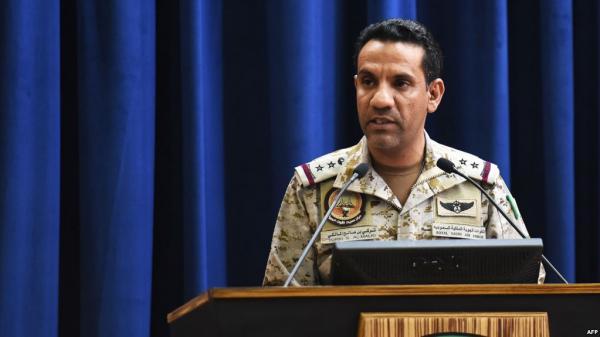التحالف: نعمل على إيجاد طرق بديلة لإيصال المساعدات الإنسانية بعد أن لغم الحوثيون الطرق المستخدمة لمرورها