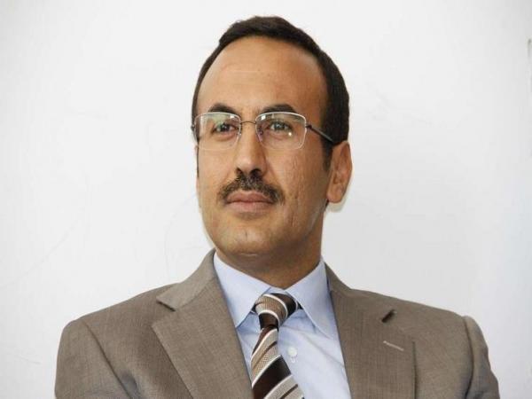 أحمد علي عبدالله صالح يطمئن باتصال هاتفي على صحة رئيس فرع المؤتمر في برمنجهام ببريطانيا