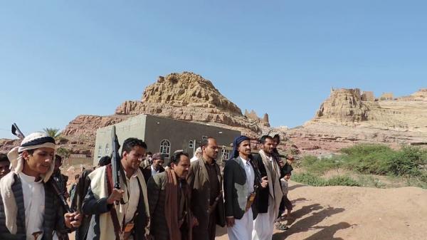 قبيلة الحدا تطالب مليشيا الحوثي بالإفراج الفوري عن اثنين من أبنائها وتهدّد بالتصعيد
