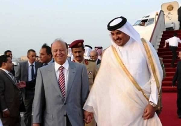 صحيفة: رئيس اليمن ونجله يستحوذان على ربع مليار دولار منحة قطرية لصندوق &#34المبعدين&#34