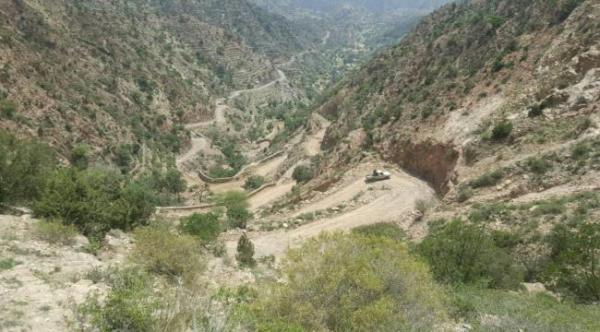 تعزيزات كبيرة دفعت بها مليشيا الحوثي إلى جبهة حيفان -عيريم شمال لحج
