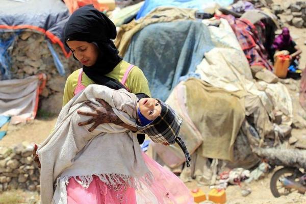 منظمة دولية: 400 ألف نازح داخلي في اليمن منذ بداية العام الجاري