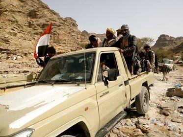 القوات الحكومية تحرر مواقع جديدة بملاحيط صعدة وتستعيد كميات أسلحة كبيرة