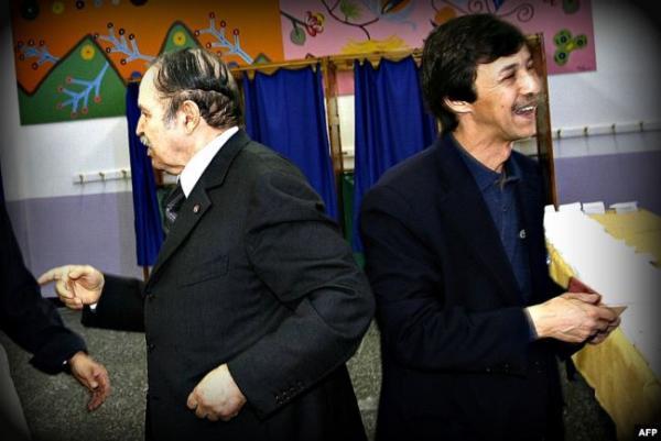 بوتفليقة يدلي بصوته في انتخابات الرئاسة الجزائرية