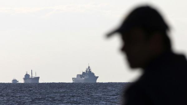 البحرية اليونانية تعترض سفينة شحن تركية