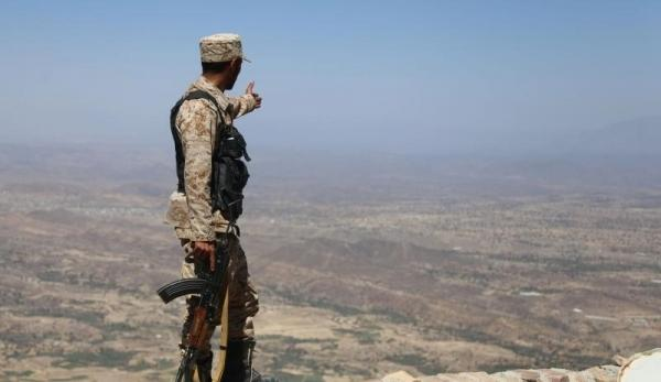 """تجدد المواجهات بين مليشيا الحوثي والمقاومة الجنوبية في جبهة """"حيفان عيريم"""" جنوبي تعز"""