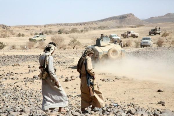 الجوف.. القوات الحكومية تحكم السيطرة على سلسلة جبل قشعان وأجزاء واسعة من وادي سلبة