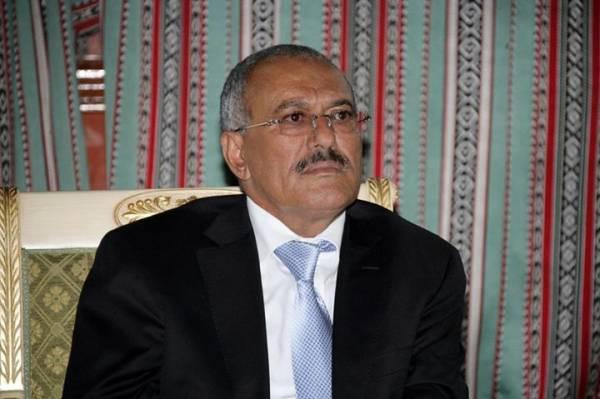 صالح يعزي بوفاة القاضي الارياني