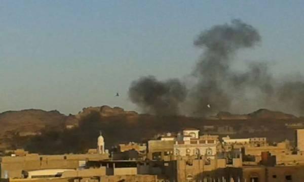 انفجاران يهزان مدينة &#34رداع&#34 اليمنية