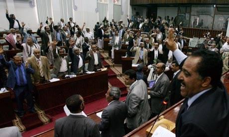 كتلة المؤتمر الشعبي العام تنسحب من البرلمان