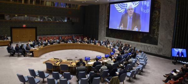 مصدر أممي: بريطانيا ستقدم مشروع قرارٍ جديداً لمجلس الأمن بشأن اليمن والأخيرة تجدد رفضها