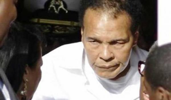 تحسن الحالة الصحية لاسطورة الملاكمة محمد علي