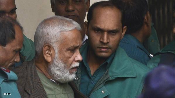 الحكم بإعدام وزير سابق في بنغلادش