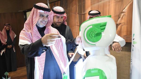 الروبوت &#34تقني&#34 أول موظف آلي في وزارة التعليم بالسعودية