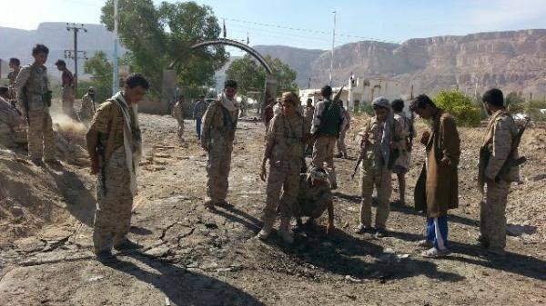 استهداف قائد العسكرية الاولى بسيارة مفخخة بحضرموت (جنوب شرق اليمن)