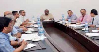 وزير النقل يترأس أول اجتماع لمجلس إدارة مؤسسة موانئ خليج عدن