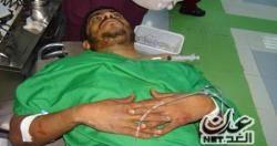إصابة شخص في احتجاجات سائقي الشاحنات بميناء عدن