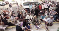 مغادرة 9 من جرحى احداث 2011م الى المانيا وكوبا للعلاج بعد ضغط شعبي كبير على الحكومة