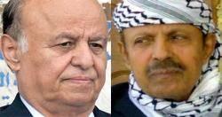مصادر سياسية تكشف عن لقاء جمع الرئيس هادي بالقيادي مسدوس بعدن