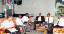 لجنة معالجة قضايا اراضي الجنوب توزع اعضاءها الى خمس دوائر