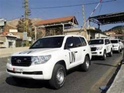 خبراء الأمم المتحدة يصلون سوريا لبدء تفكيك برنامج الأسلحة الكيماوية