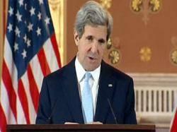 """""""كيري"""" يقوم بزيارة مفاجئة لكابول لإجراء محادثات مع الرئيس الأفغاني"""