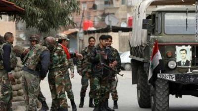 الجيش السوري يستعيد السيطرة على قاعدة اللواء 80 بمطار حلب