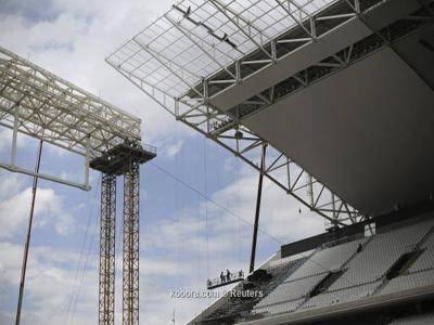 مقتل وإصابة 3 أشخاص في ملعب افتتاح مونديال البرازيل