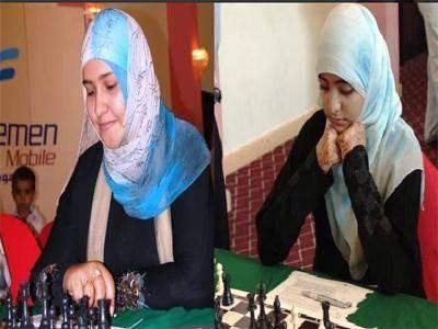 أمل جميل وأميمة عوض إلى &#34ابو ظبي&#34 للمشاركة في شطرنج العرب