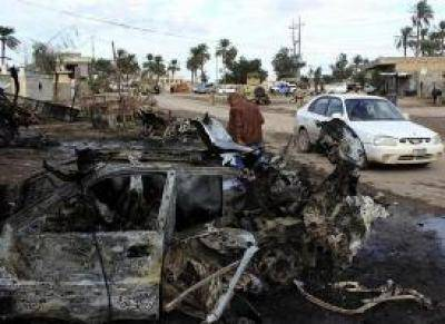 مصرع 11 واصابة 20 في هجوم انتحاري على جنازة بالعراق