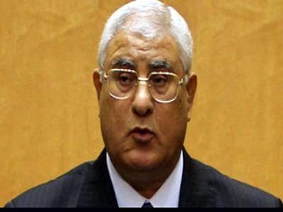الرئيس المصري المؤقت يدعو الشعب للاستفتاء على الدستور