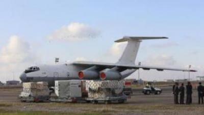 الامم المتحدة تنقل اول شحنة مساعدات جوا من العراق إلى سوريا