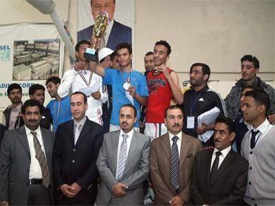 وزير &#34الشباب&#34 ورئيس اتحاد المبارزة يكرمان أبطال الجمهورية للمبارزة