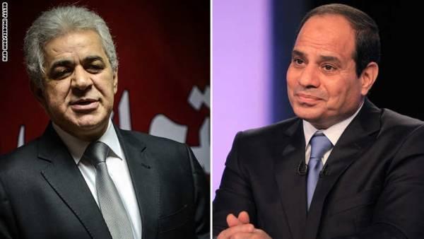 استطلاع : السيسي 76 % مقابل 2 % لصباحي من أصوات المصريين