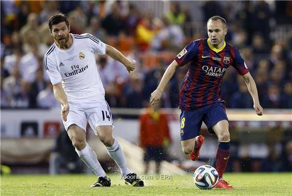 ريال مدريد يتوج بطلاً لكأس الملك على حساب برشلونة