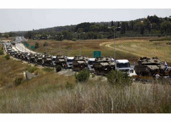الجيش الاسرائيلي يبدأ عملية برية في قطاع غزة بأمر من نتنياهو ووزير الدفاع الاسرائيلي