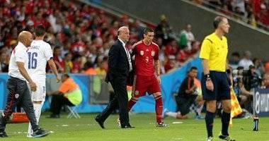 وضع كرة مباراة تشيلى وإسبانيا فى متحف لكرة القدم