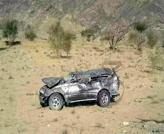 مأرب.. مقتل واصابة 5 أشخاص في حادث مروري.. (الأسماء)