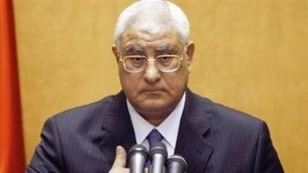 الرئيس المصري يؤكد إجراء الانتخابات الرئاسية قبل البرلمانية