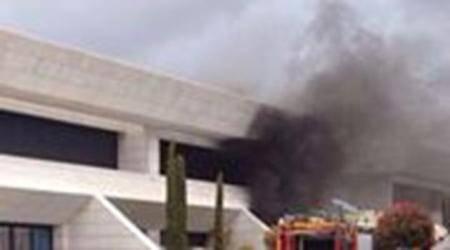 إنفجار في مقر سكن نجم الريال خيسي رودريجيز