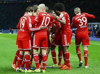 بايرن ميونيخ يحسم لقب الدوري الألماني قبل سبع جولات من انتهائه