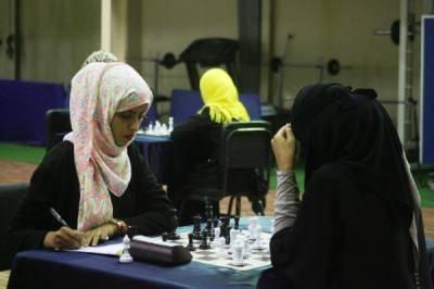 براعم الشطرنج يحرجن السيدات في بطولة الجمهورية الفردية الـ10