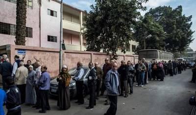 مصر.. إغلاق مراكز الاقتراع وبدء فرز الأصوات