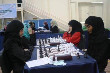 تتويج اللاعبة أميمة عوض بلقب بطولة الجمهورية ال10 لسيدات الشطرنج وأمل جميل ثانيا
