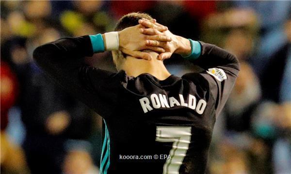 ريال مدريد يدفع ثمن النسخة الأسوأ لكريستيانو رونالدو