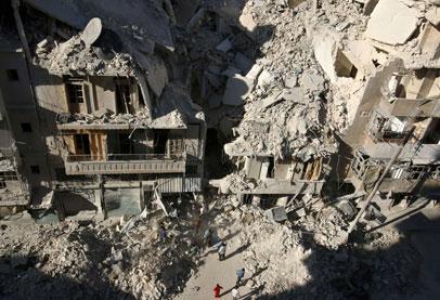 354 ألف قتيل حصيلة سبع سنوات من الحرب السورية