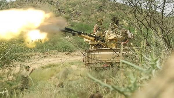 القوات الحكومية تحبط محاولة تسلل للمليشيا بملاجم البيضاء